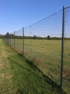 fakenham Fairways kids play area fence
