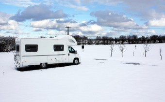 Winter Caravanning.