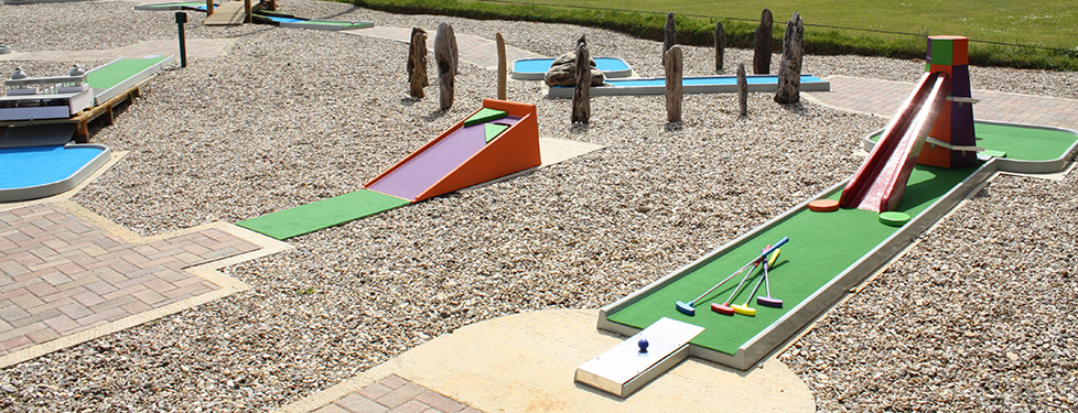Norfolk themed crazy golf